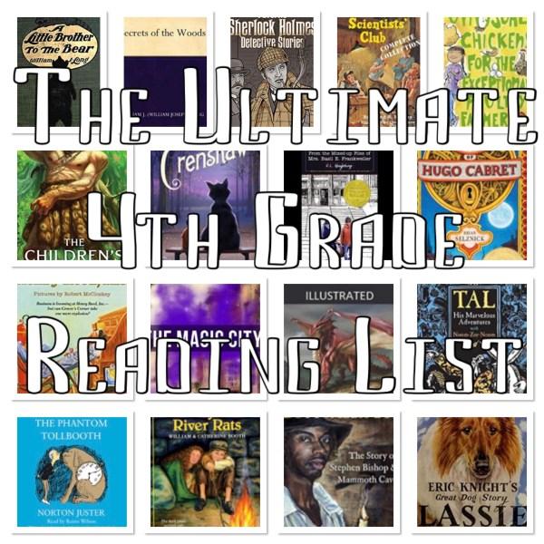 Master 4th Grade Reading list