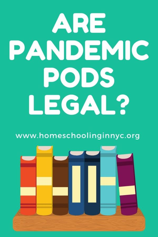 Are the Pandemic Pods Legal?