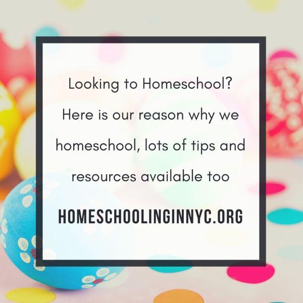 Why we homeschool?