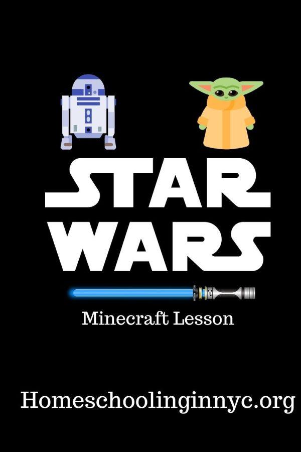 Star Wars Minecraft Lesson