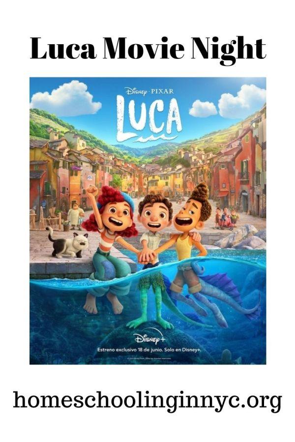 Luca Movie Night