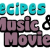 recipes-music&movies