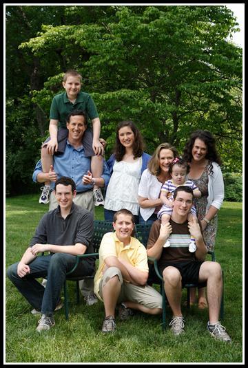 santorum-family