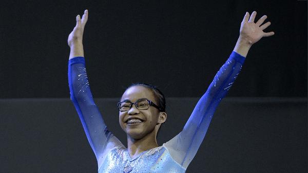 Morgan Hurd: Teen Gymnastics Champion
