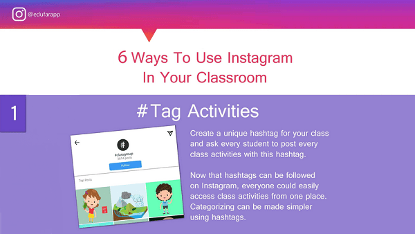 6 Ways to Use Instagram in Your Classroom