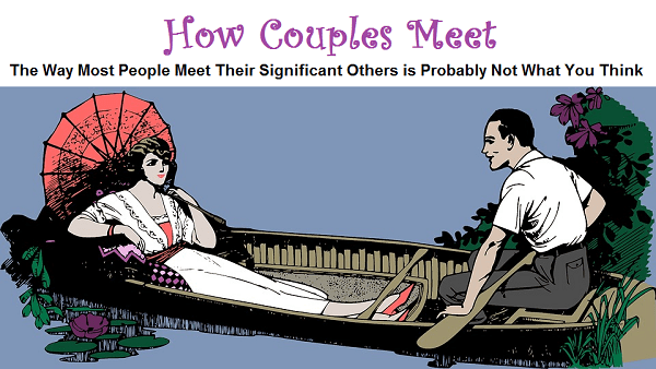 How Couples Meet: Infographic