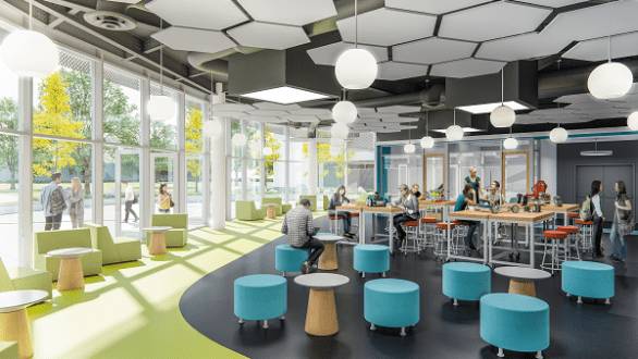 colleges with architecture and interior design concepts
