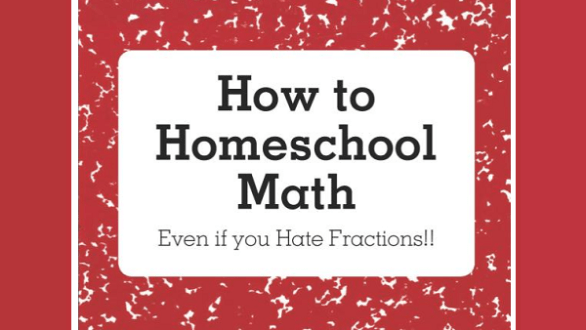how to homeschool math