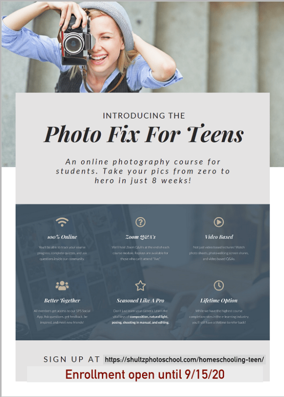 Photo Fix for Teens