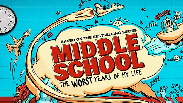 "Review of ""Middle School: The Worst Years of My Life"""