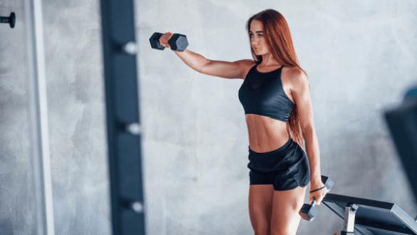 gym membership girl