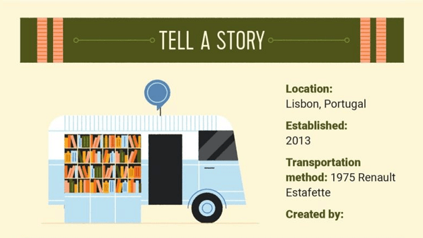 10 Funky Bookmobiles Around the World  By HST