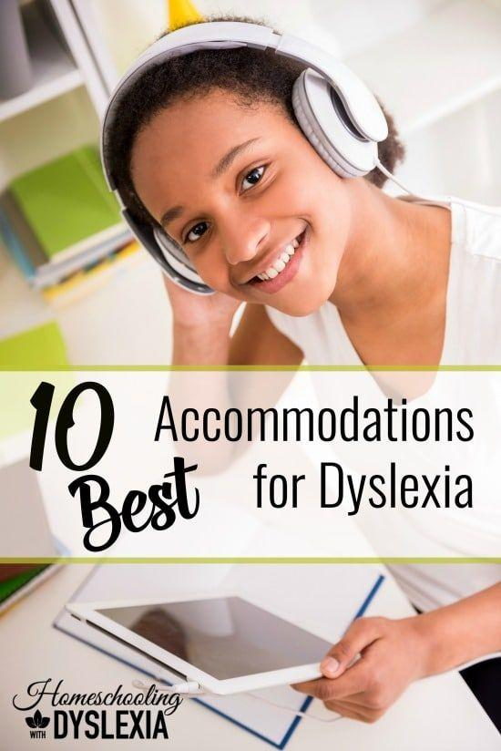 Accommodations allow students with dyslexia to perform at their intellectual ability in the school setting even if they are still reading below grade level. Here are some great accommodations for students with dyslexia that really work!