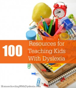 100 Resources for Teaching Kids With Dyslexia