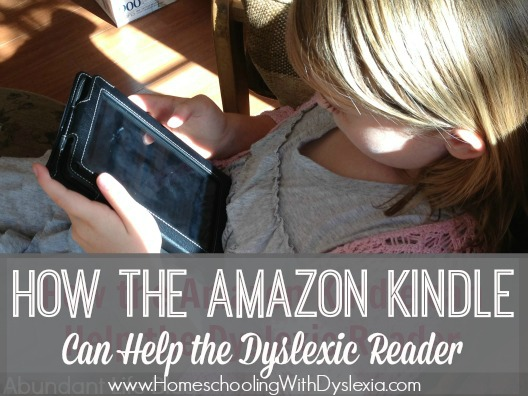 As parents and teachers of dyslexic students, we are always trying to find ways to help these struggling readers learn to enjoy reading and learning. One way you can do this is by using an Amazon Kindle for your dyslexic reader.