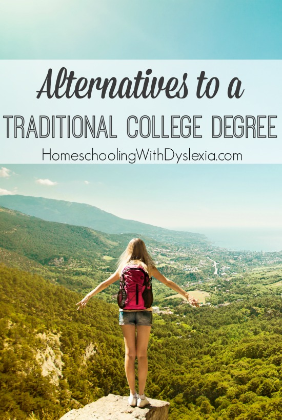 Alternatives to a Traditional College Degree