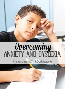 anxiety dyslexia