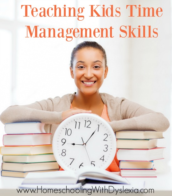 Some of my kids aren't naturally organized (ahem) and they need to be explicitly taught how to manage their time.  Here are some simple strategies to teach kids time management.
