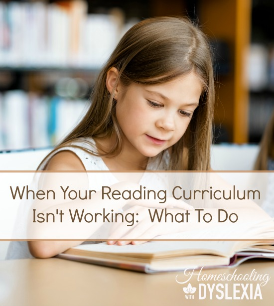 What to do When Your Reading Curriculum Isn't Working