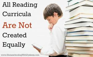 Why All Reading Curricula Are Not Created Equally