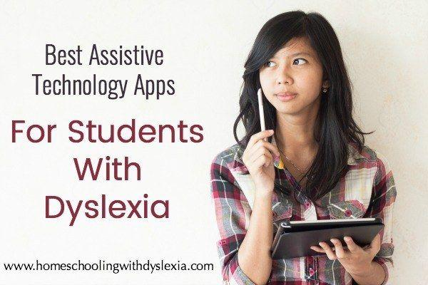 Best Apps for Students With Dyslexia | Homeschooling with