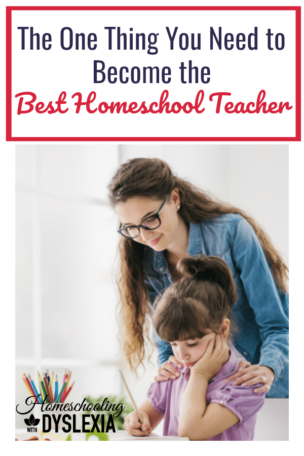 What is one thing you need to become the best homeschool teacher? Sharing some top tips on becoming an amazing homeschool teacher!