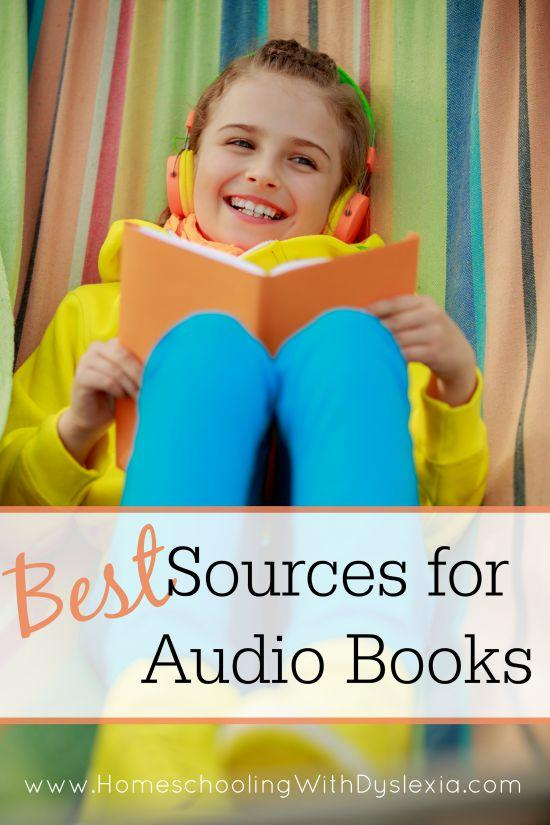 Best Sources For Audio Books Homeschooling With Dyslexia