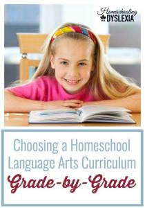 Language Arts Homeschool Curriculum