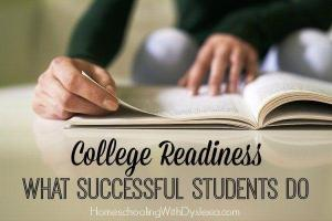 College Readiness:  What Successful Students Do