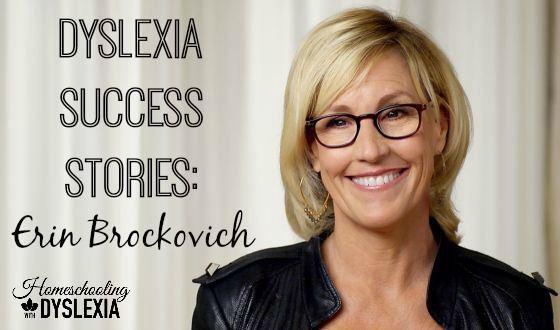 Dyslexia Success Story:  Erin Brockovich