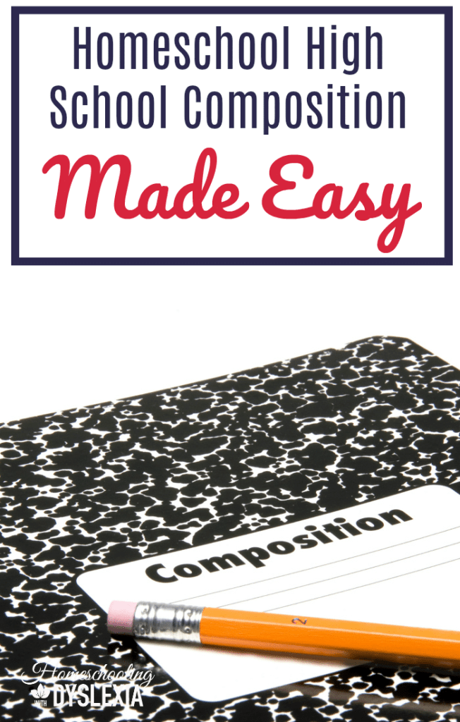 Over and over again we are hearing about high school graduates who are leaving school with poor writing skills. Learn how to homeschool high school composition in an easier way!