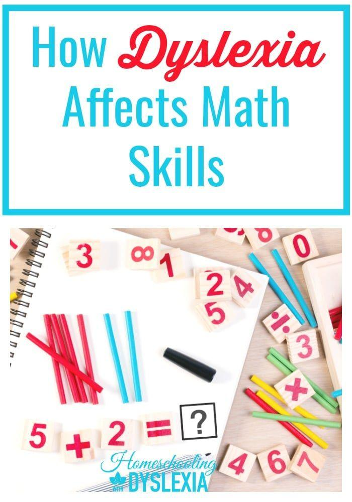 How Dyslexia Affects Math Skills | Homeschooling with Dyslexia
