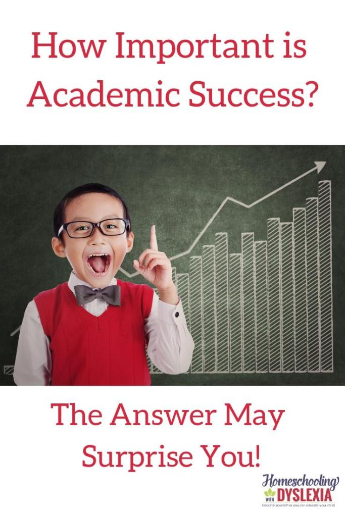 How important is academic success to overall success? The answer may surprise you!