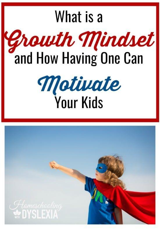 A Growth Mindset Motivates Kids