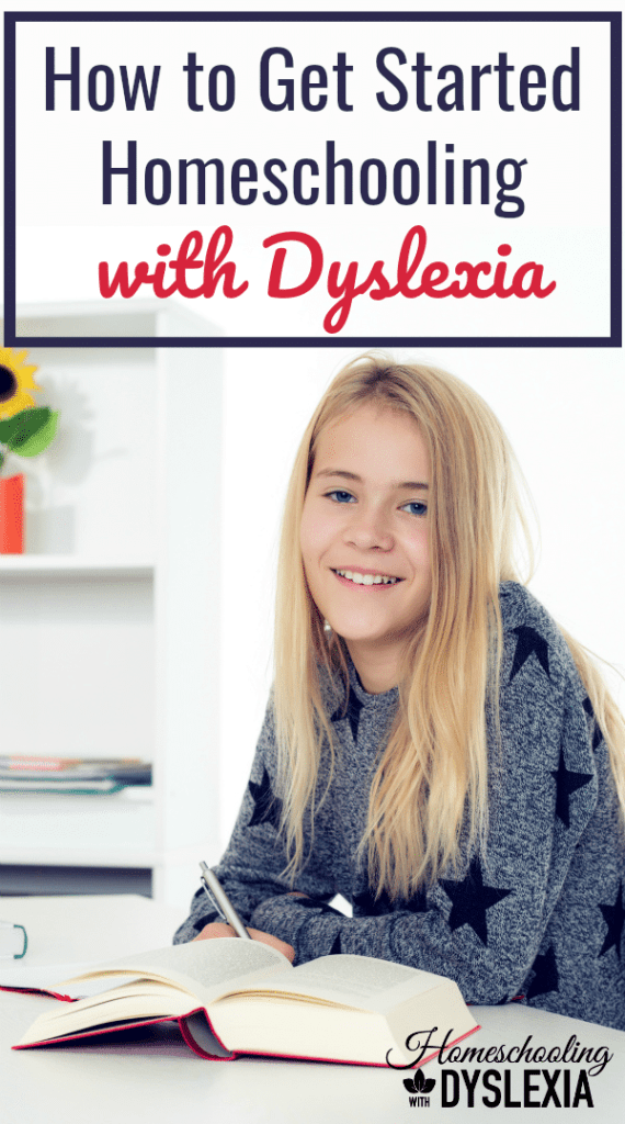 Interested in getting started homeschooling with dyslexia? It will take some time to settle into a routine of homeschooling kids with dyslexia.Here are some tips to help you get started.