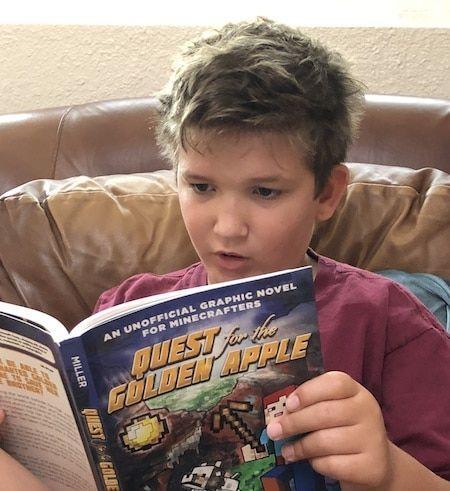 dyslexia graphic novels