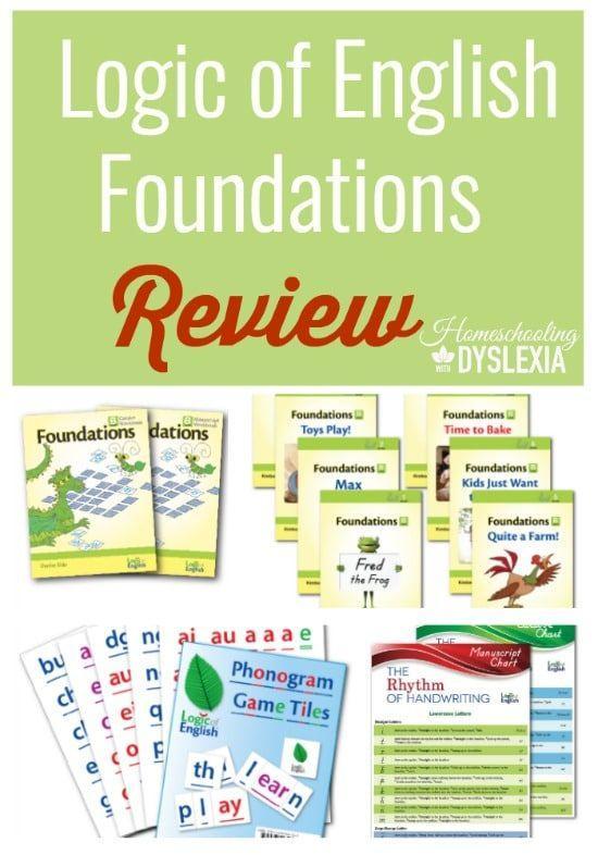 Logic of English reading program review