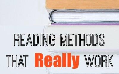 Reading Methods That Work With Dyslexia