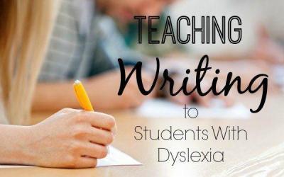 Teaching Writing to Kids with Dyslexia