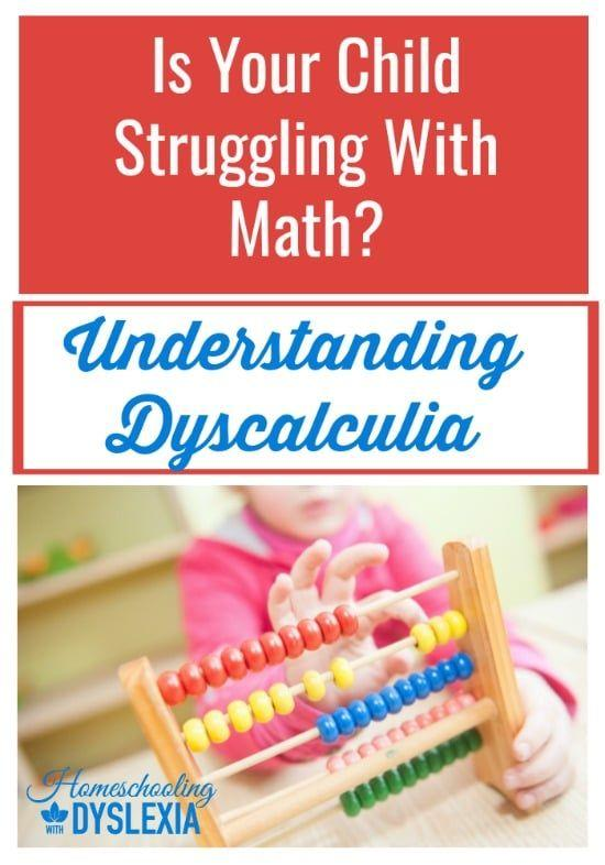 As in dyslexia, dyscalculia manifests differently in different kids.Some kids have trouble making sense of numbers and math concepts. Other kids with dyscalculia can't grasp basic number concepts. Let's work on understanding dyscalculia.