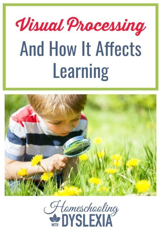 Could your child's learning struggles be affected by his or her weak visual processing skills?