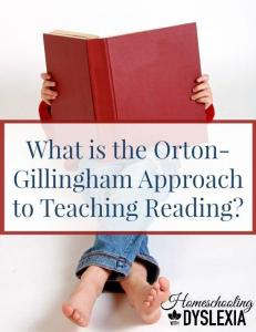 Is your child struggling to learn to read, even with the Orton-Gillingham approach to teaching reading? This may be why.