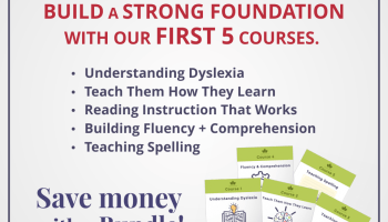 Understanding Dyslexia And Reading >> Course 4 Building Fluency And Comprehension In Dyslexic Readers