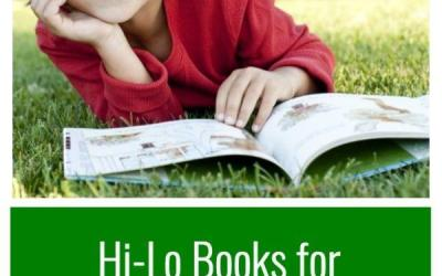 Hi-Lo Books for Struggling or Reluctant Readers