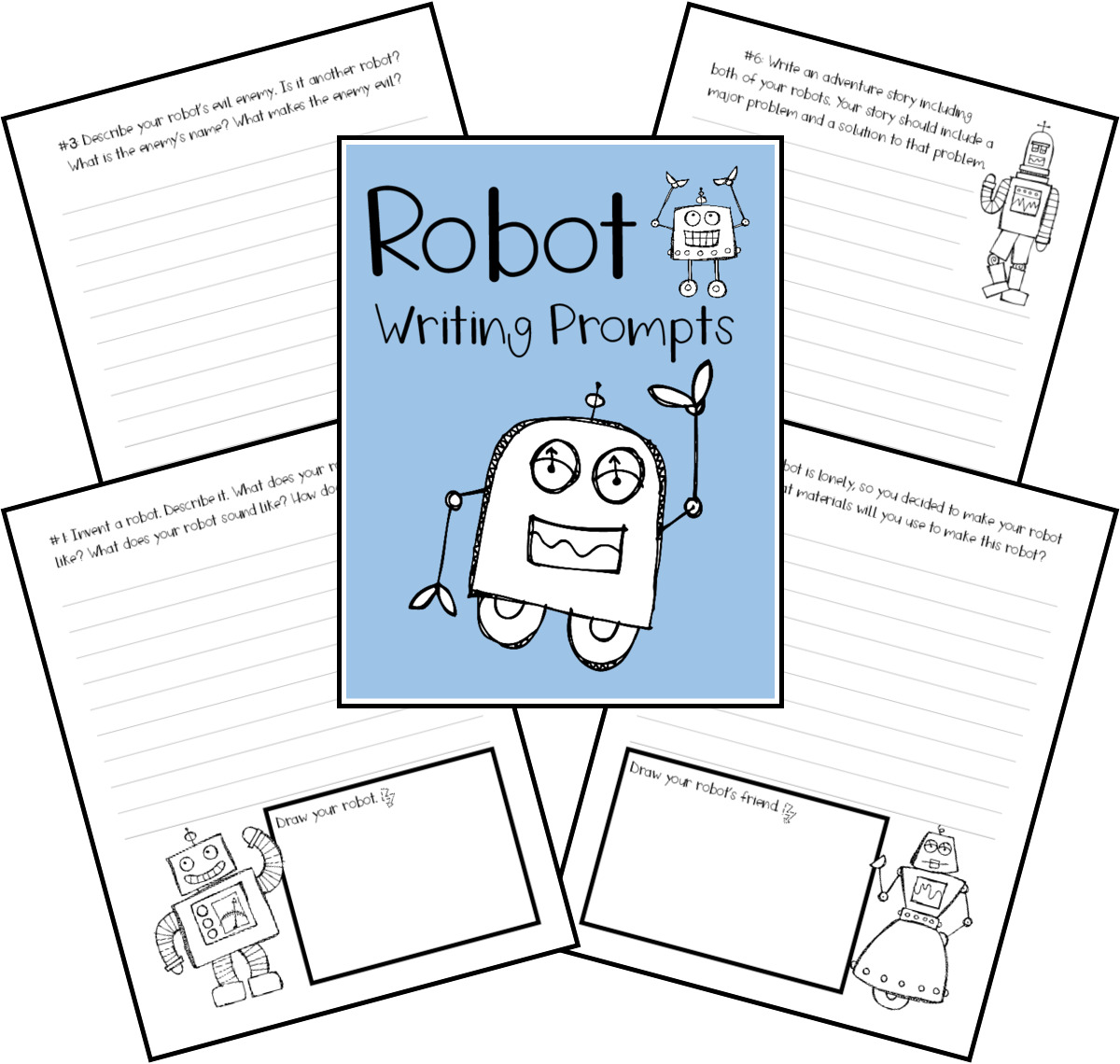 See What Happens When You Try Fun Creative Robot Writing Prompts