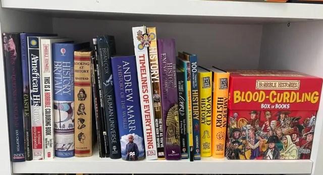 Homeschool History Books for Kids