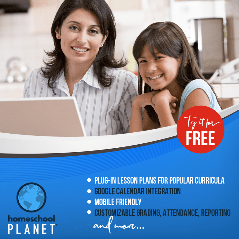 Try the World's Best Homeschool Planner for FREE! {How an online homeschool planner won me over)