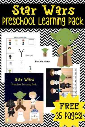 Country Mouse City Spouse Monday Mish Mash Link Party #16 Feature: Star Wars Preschool Learning Pack @ Homeschool Preschool