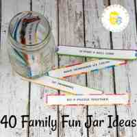 How to Make a Family Fun Jar