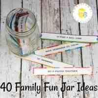 How to Make a Family Fun Jar